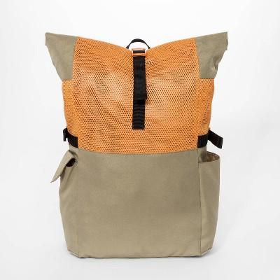 Boys' Roll Top Backpack - art class™ Orange
