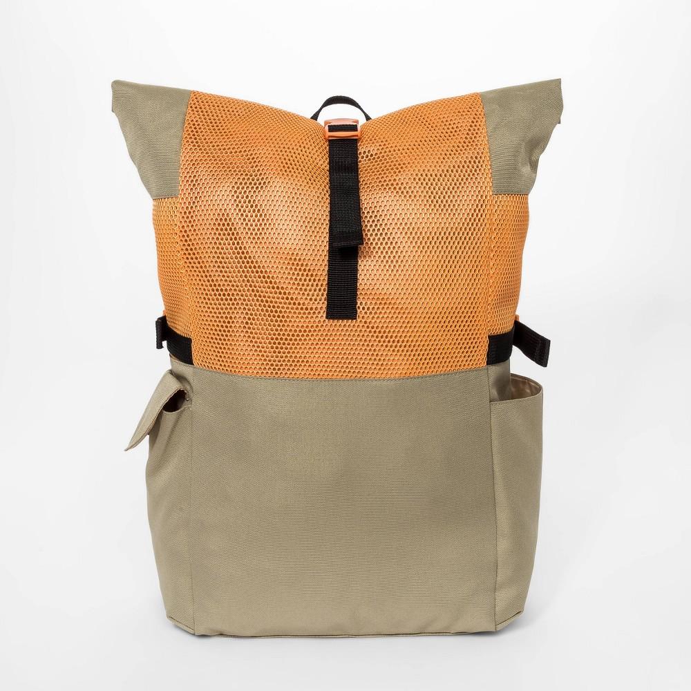 Boys 39 Roll Top Backpack Art Class 8482 Orange