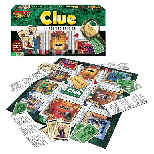 Clue Classic Edition Board Game image number null