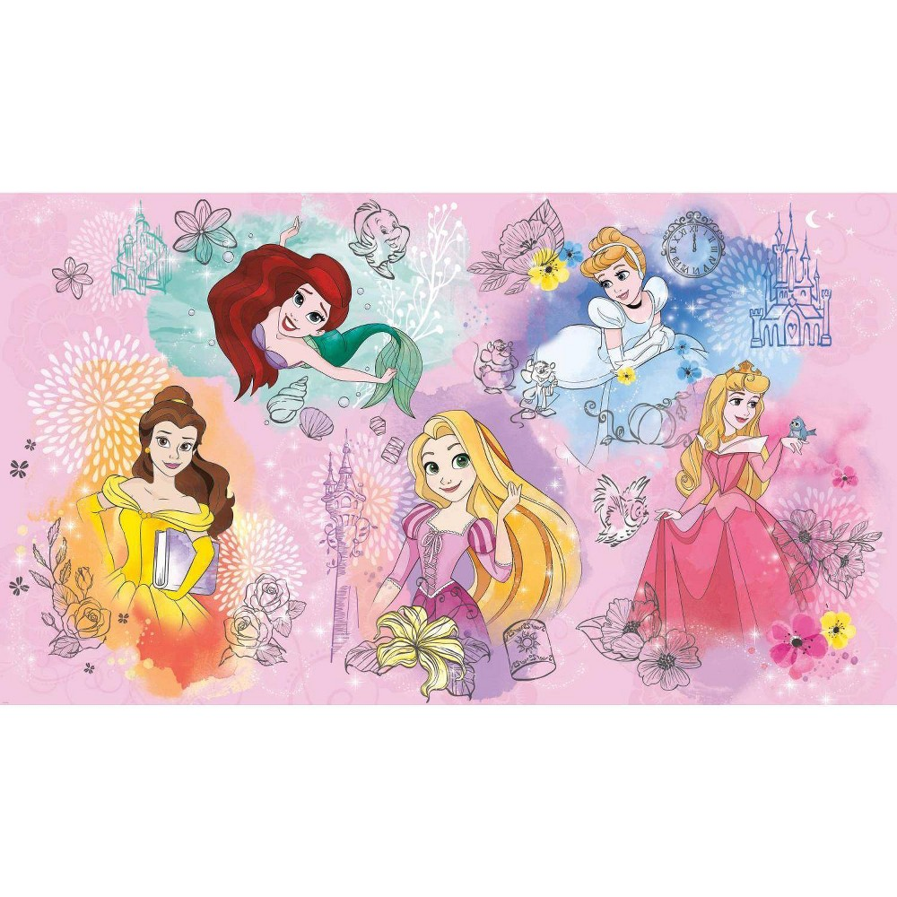 Image of Disney Princess Peel and Stick Wall Mural - RoomMates