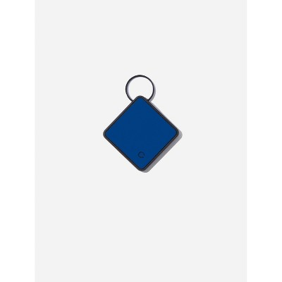 QALO TraQ Powered By Tile Dog and Cat Silicone Bluetooth Trackable Pet ID Tag - Navy