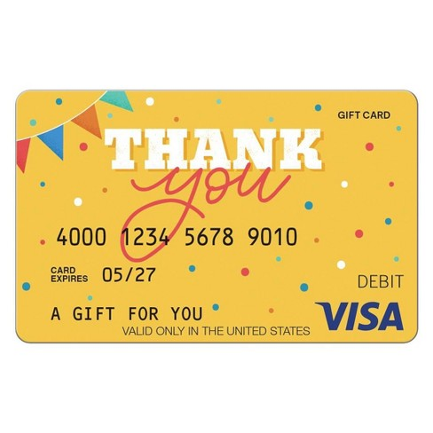 Visa Thank You eGift Card - $7 + $7 Fee (Email Delivery)