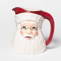 "8.2"" x 6.1"" Ceramic Santa Claus Pitcher - Threshold™"