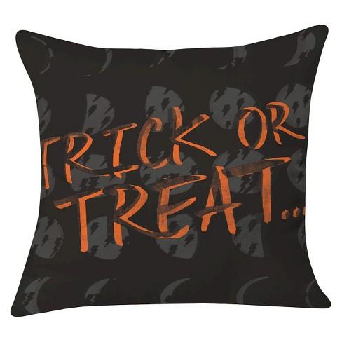 "20""x20"" Zoe Wodarz Cheap Trick And Some Treats Throw Pillow Black - Deny Designs - image 1 of 3"