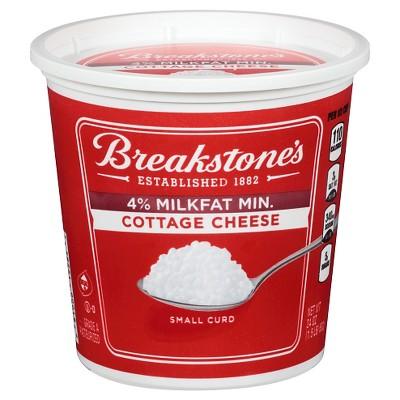 Breakstone's 4% Milk Fat Cottage Cheese - 24oz