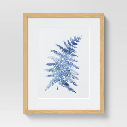 """(Set of 2) 16"""" x 20"""" Fern II Framed Under Glass with Mat - Threshold™ - image 1 of 4"""