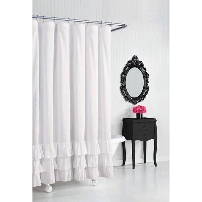 Shower Curtain White - Betseyville