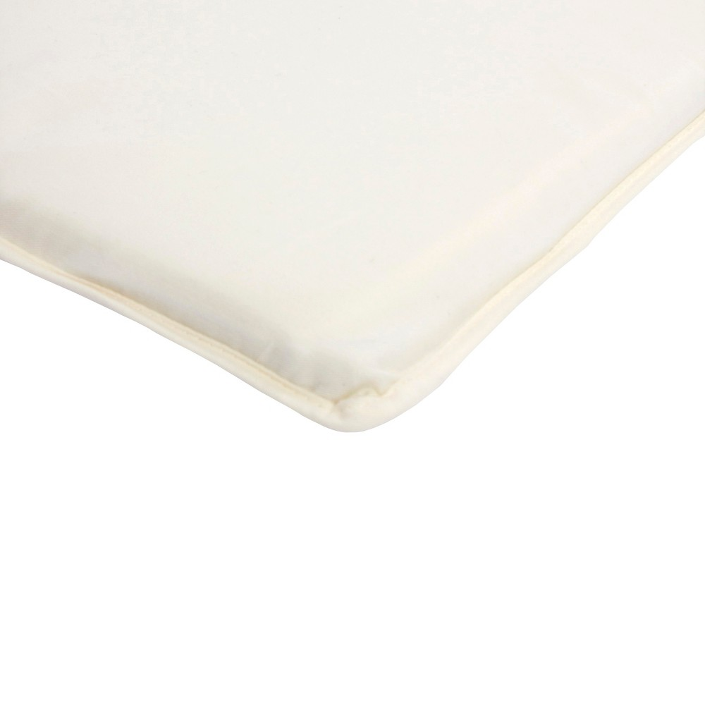 Image of Arm's Reach 100% Cotton Mini Co-Sleeper Sheet - Natural