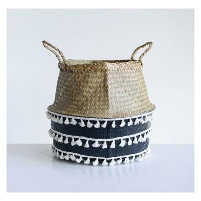 Decorative Basket 3R Studios Black