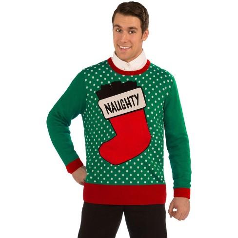 Forum Novelties Naughty Sweater Adult Costume - image 1 of 1