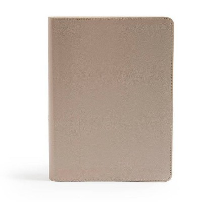CSB She Reads Truth Bible, Champagne Gold Leathertouch - (Hardcover)