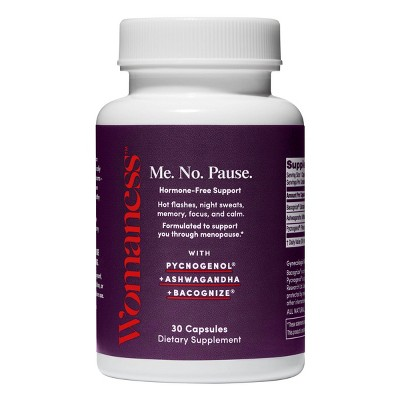 Womaness Me. No. Pause Menopause Supplements - 30ct