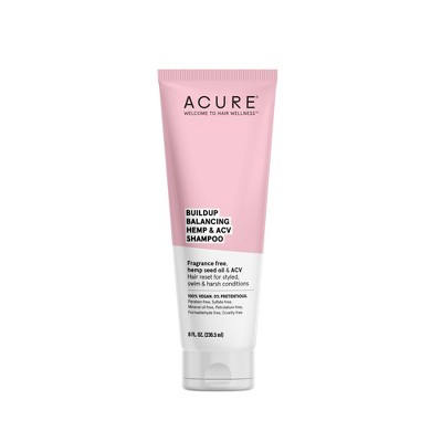 Acure Buildup Balancing Hemp & ACV Shampoo - 8 fl oz