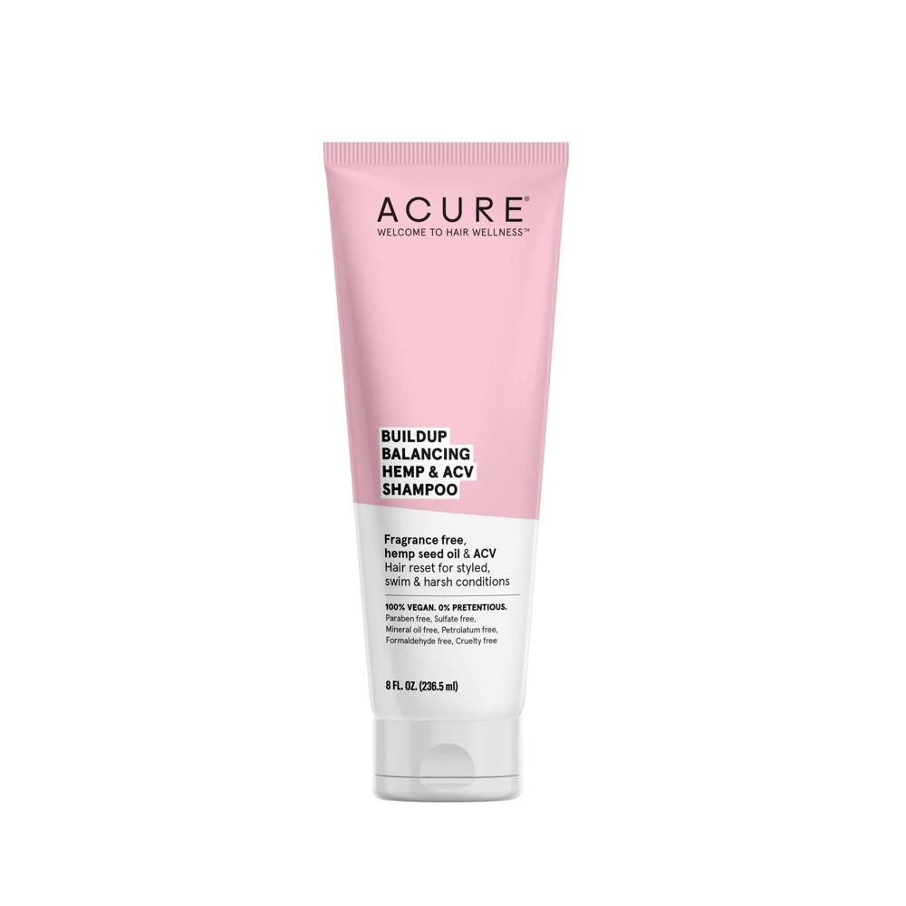 Image of Acure Buildup Balancing Hemp & ACV Shampoo - 8 fl oz