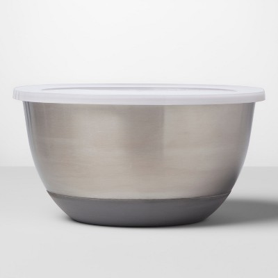 Stainless Steel Non-Slip Covered Mixing Bowl - Made By Design™