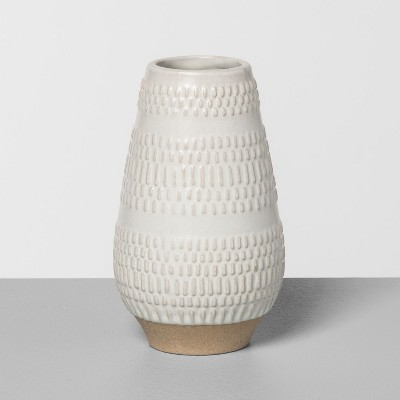 5  Textured Vase Cream - Hearth & Hand™ with Magnolia