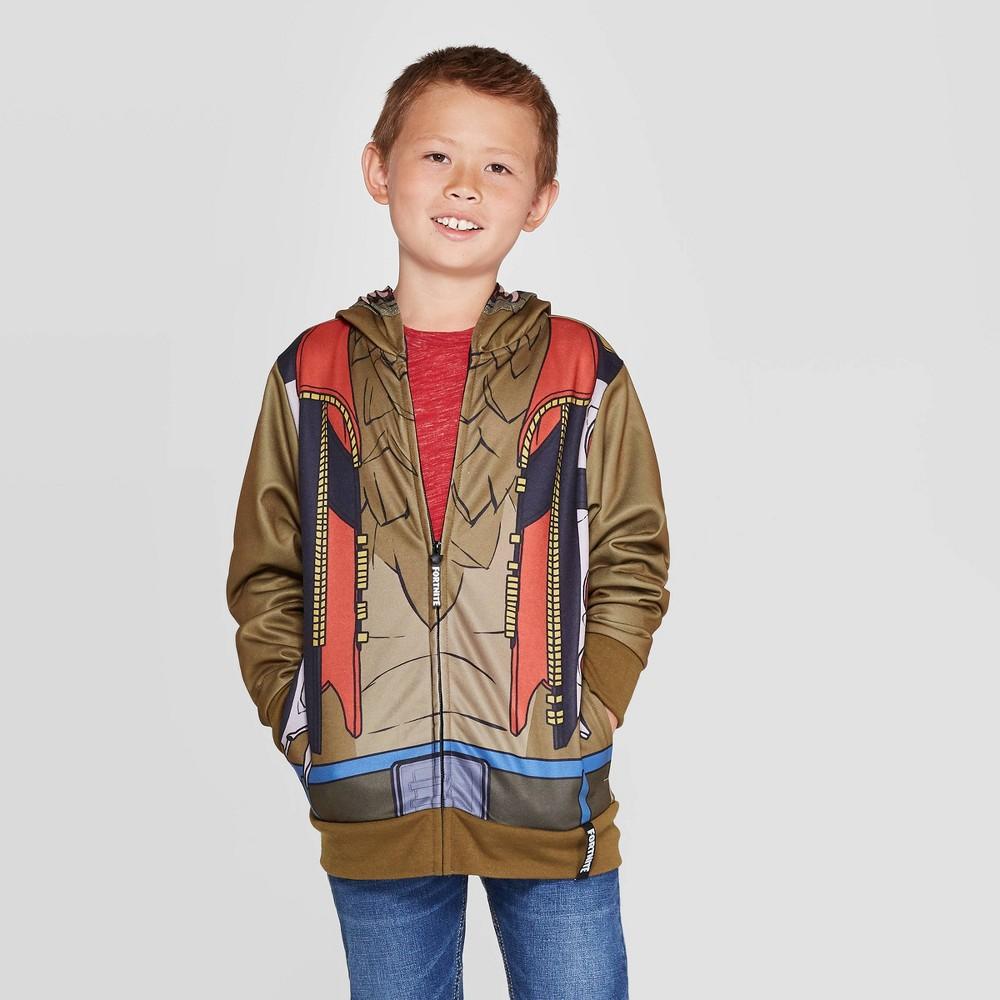 Image of Boys' Fortnite Sweatshirt - Brown M, Boy's, Size: Medium