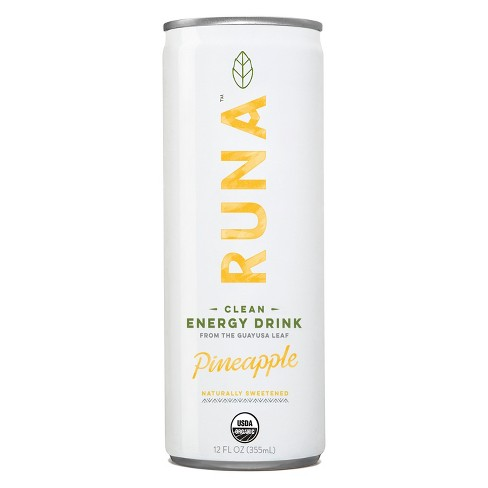 Runa Pineapple Energy Drink - 12 fl oz Can - image 1 of 1