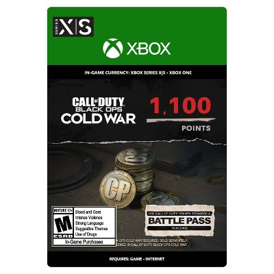 Call of Duty: Black Ops Cold War 1,100 Points - Xbox Series X|S/Xbox One (Digital)