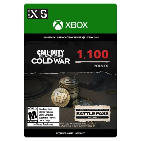 Call of Duty: Black Ops Cold War 1,100 Points - Xbox Series X|S/Xbox One (Digital) - image 1 of 4