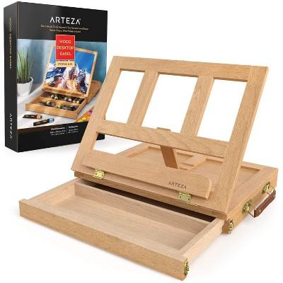 Arteza Wooden Tabletop Easel with Storage Drawer & Palette (ARTZ-9976)