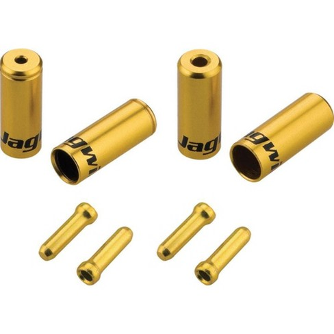 Jagwire End Cap Hop-Up Kit 4.5mm Shift Gold - image 1 of 1