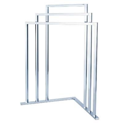 Edenscape L Shape 3-Tier Steel Construction Corner Towel Rack - Kingston Brass