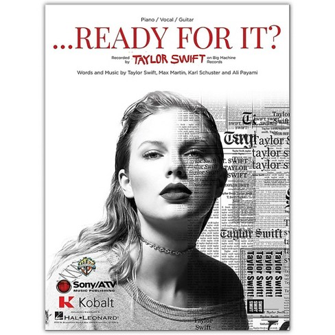 Hal Leonard Taylor Swift ...Ready For It?  Piano/Vocal/Guitar Sheet - image 1 of 1
