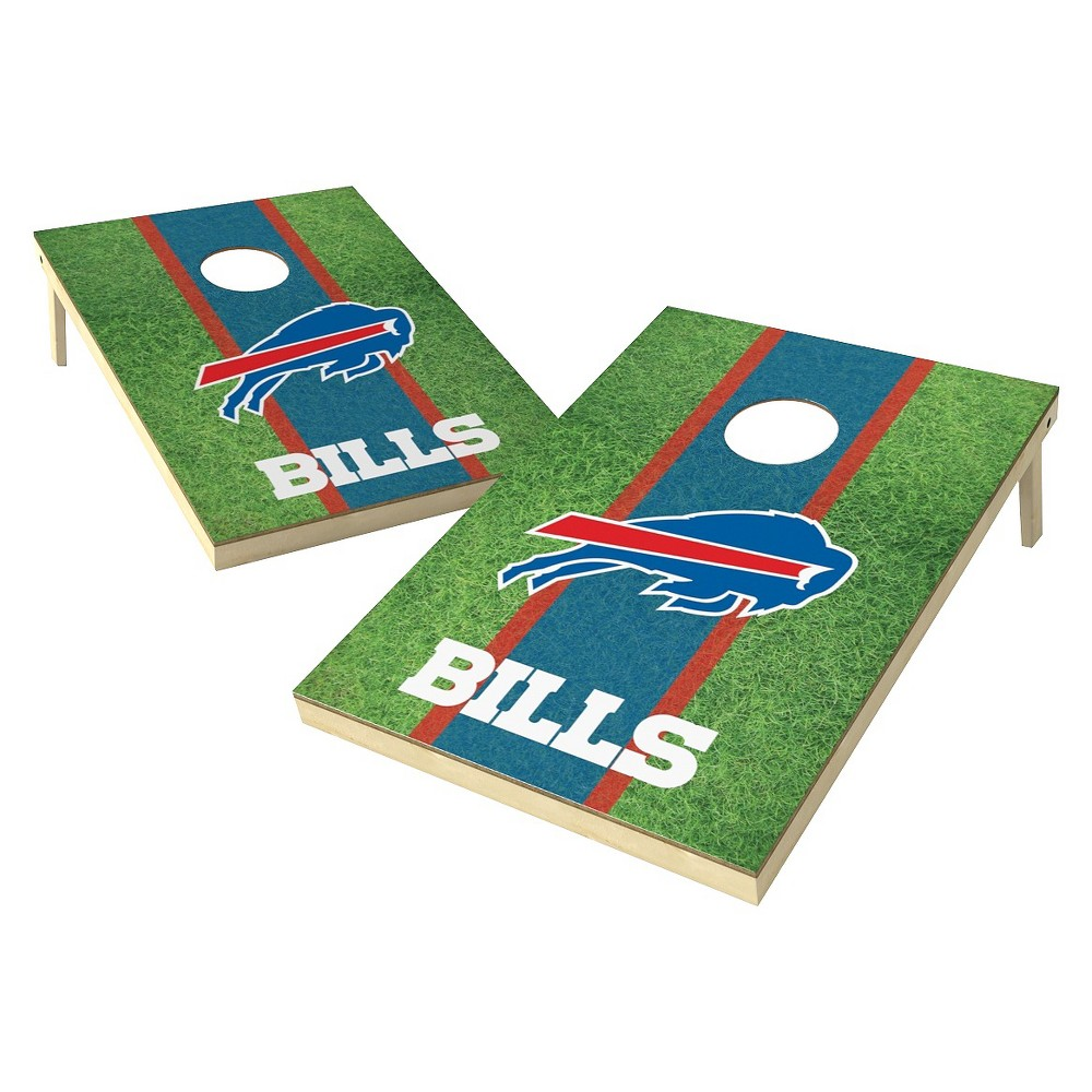 Buffalo Bills Wild Sports Field Shield Cornhole Bag Toss Set - 2x3 ft.