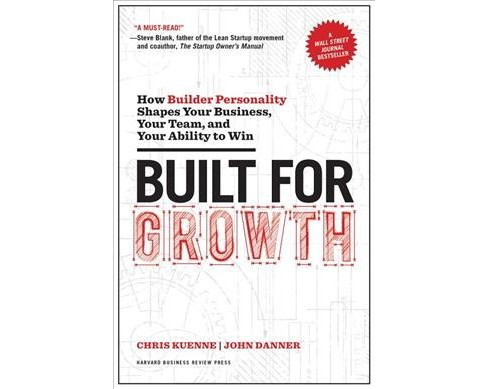 Built for Growth : How Builder Personality Shapes Your Business, Your Team, and Your Ability to Win - image 1 of 1