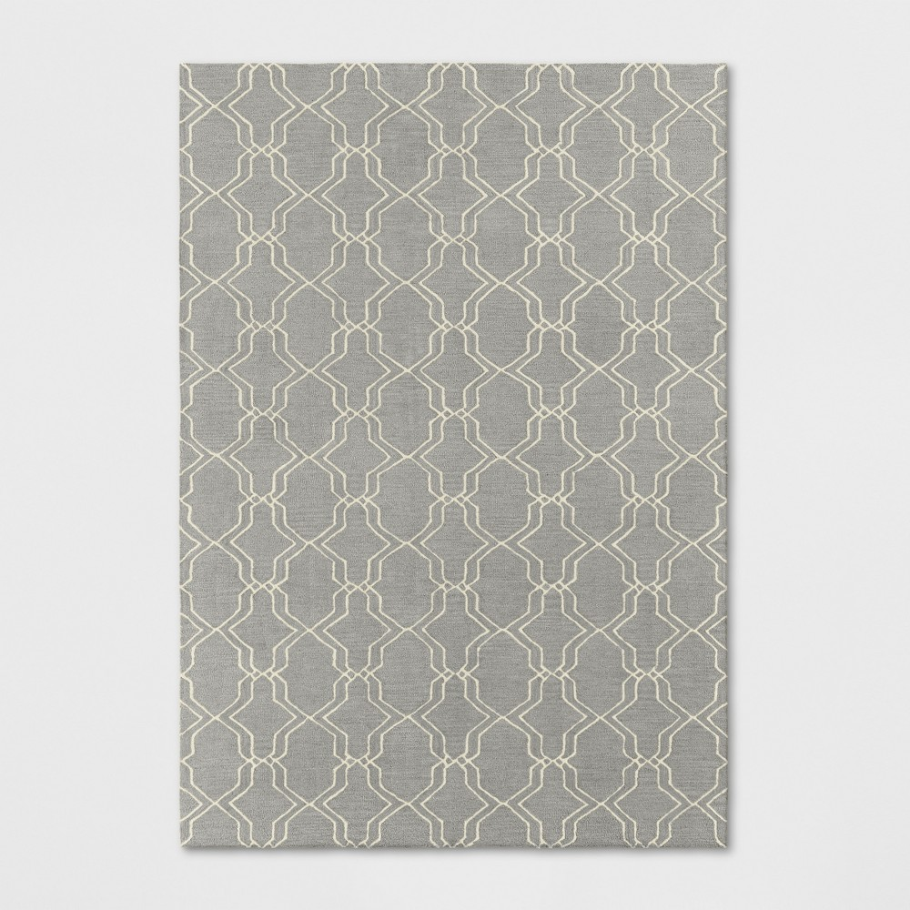 7'X10' Trellis Tufted Area Rugs Gray - Threshold