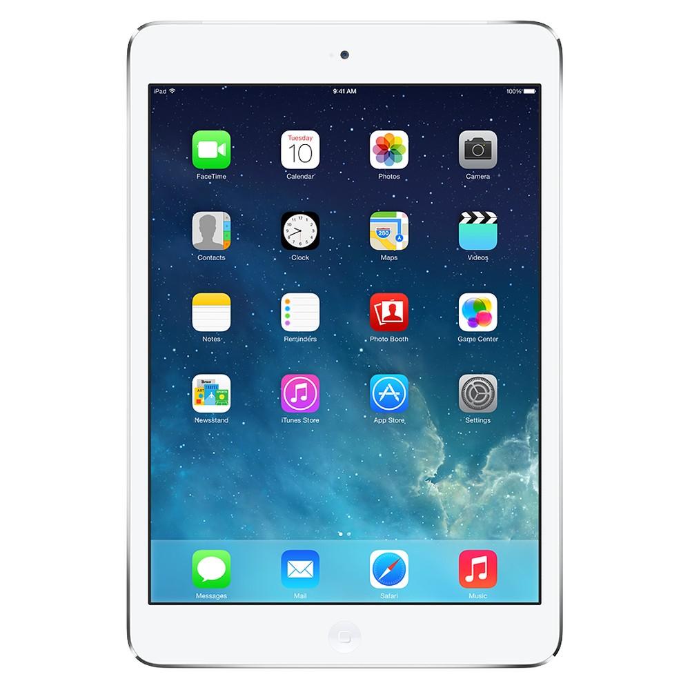 Apple iPad mini 16GB Wi-Fi - White/Silver (MD531LL/A), Red