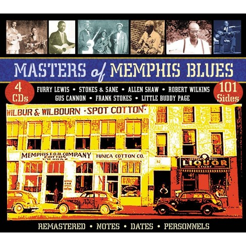 Various Artists - Masters of Memphis Blues (CD) - image 1 of 1