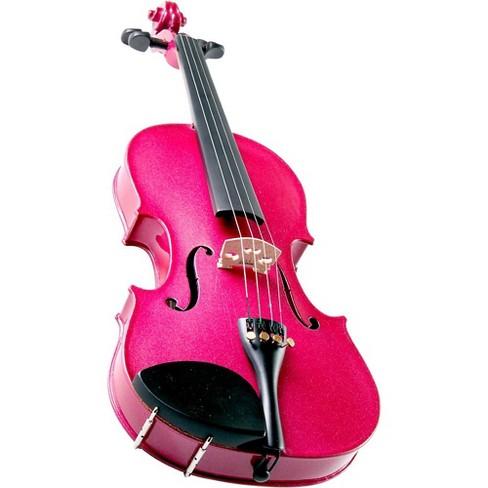 Cremona SV-75RS Premier Novice Series Sparkling Rose Violin Outfit - image 1 of 3
