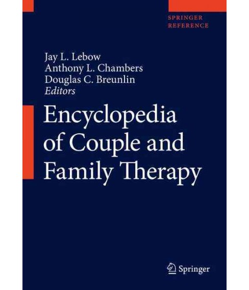 Encyclopedia of Couple and Family Therapy (Hardcover) - image 1 of 1