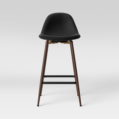 Copley Upholstered Counter Height Barstool Black - Project 62™