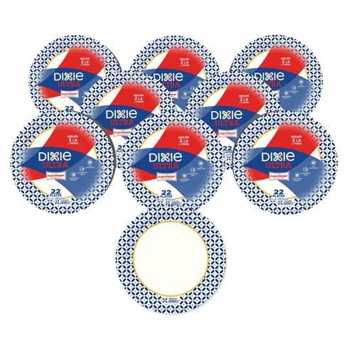 Dixie Ultra 10 1/16in 176ct Paper Plates - image 1 of 4