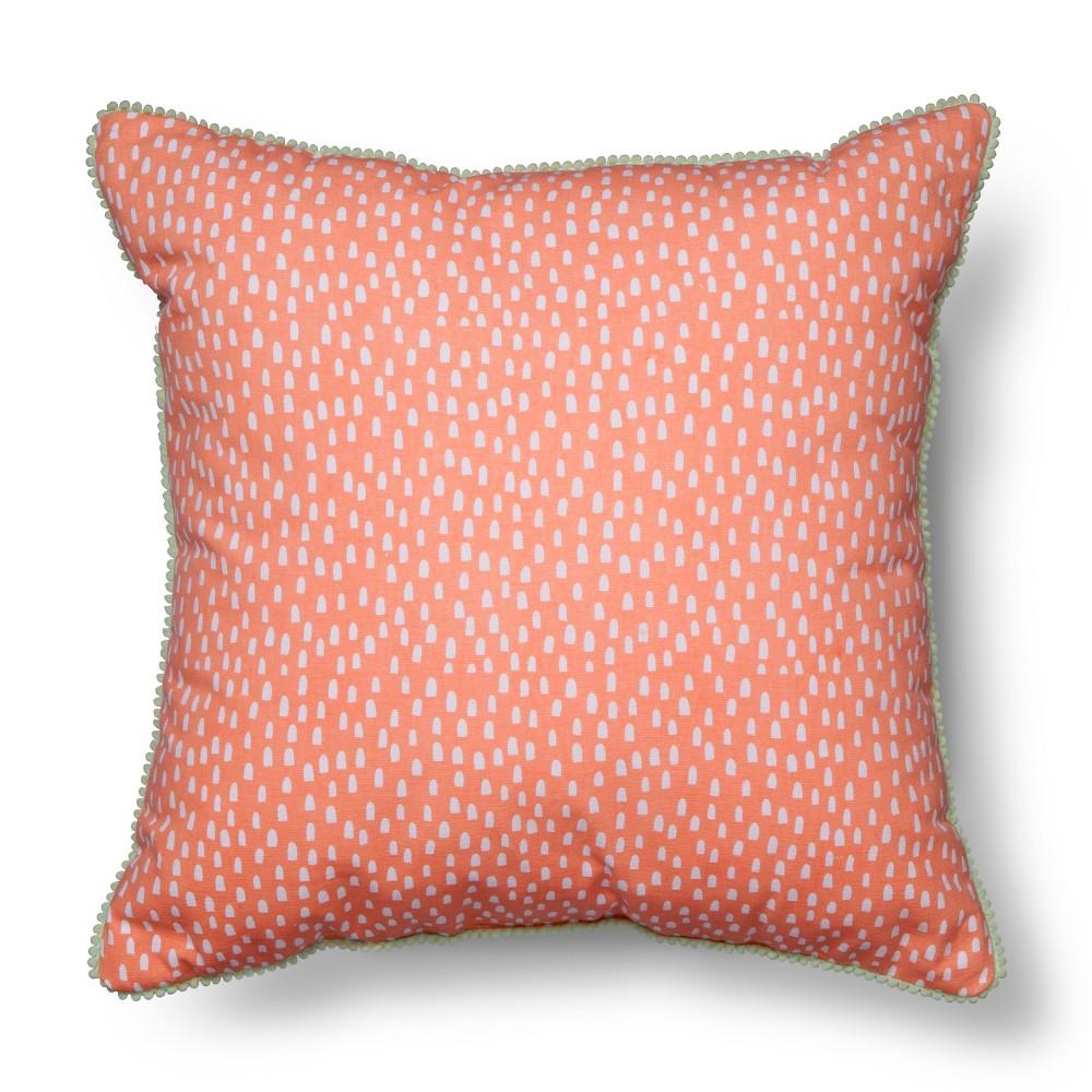 Pom Pom Throw Pillow - 18
