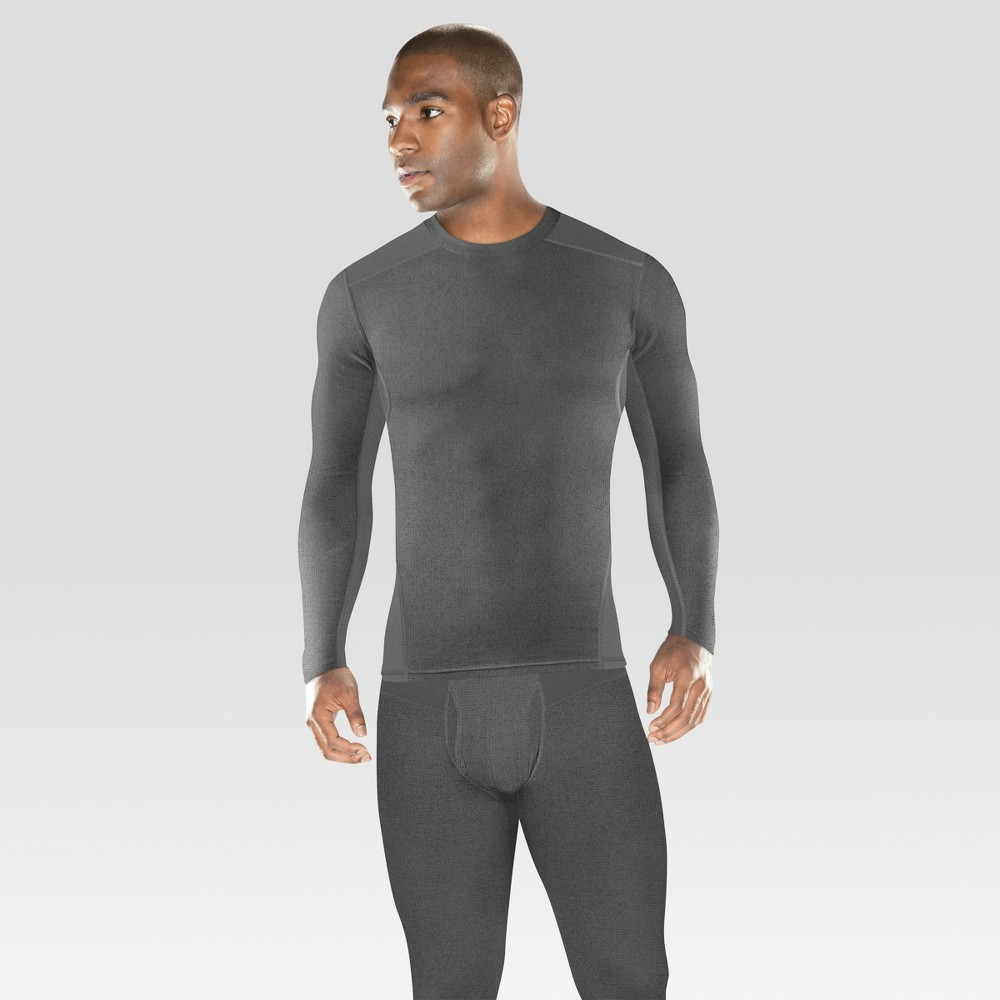 Image of Men's Heavyweight Baselayer Stretch Thermal Undershirt - C9 Champion Gray L, Size: Large