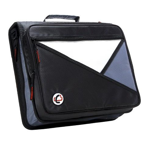 Case-it Universal Laptop Zipper Binder, O-Ring, 2 Inches, Black - image 1 of 4