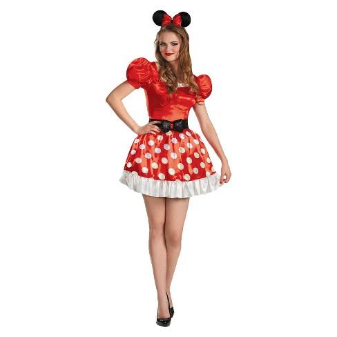 Women s Minnie Mouse Classic Costume   Target 7e80d5638