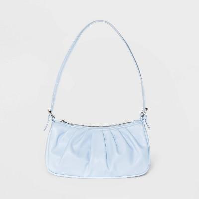Buckle Shoulder Handbag - Wild Fable™ Blue