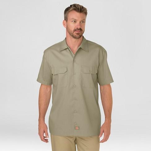 Dickies® Men's Big & Tall Original Fit Short Sleeve Twill Work Shirt - image 1 of 2