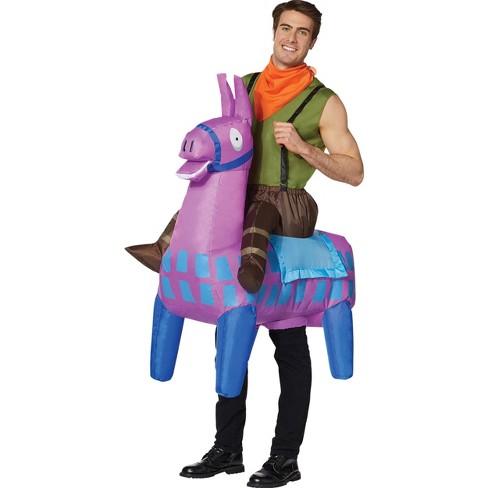 Fortnite Default Costume Adult Fortnite Giddy Up Halloween Costume One Size Target