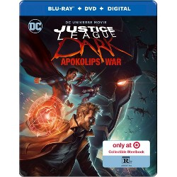 Justice League Dark: Apokolips War (Target Exclusive) (Blu-Ray + DVD + Digital)
