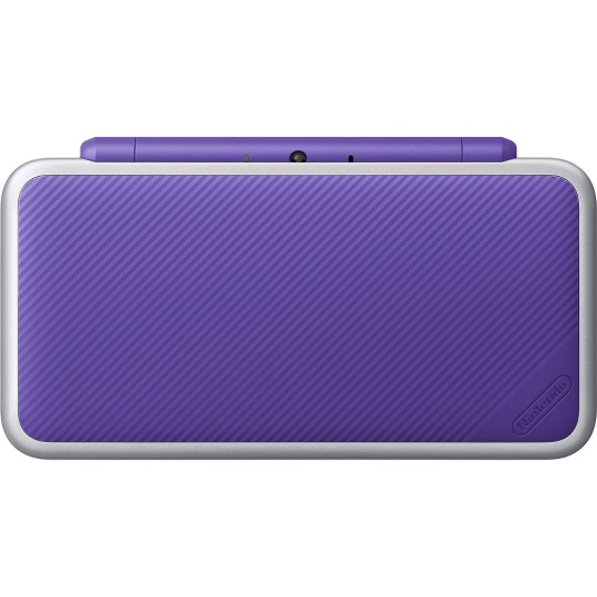 Nintendo 2DS XL with Mario Kart 7 - Purple/Silver image number null
