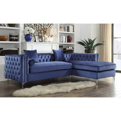 Monet Right Facing Sectional Sofa - Chic Home Design