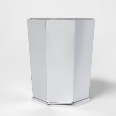 Bathroom Wastebasket Chrome - Threshold™