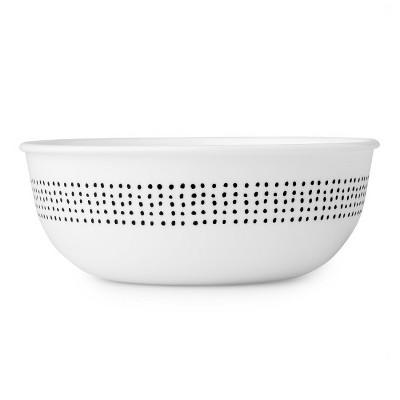Corelle Colette Vitrelle Cereal Bowl 16oz - Black/White