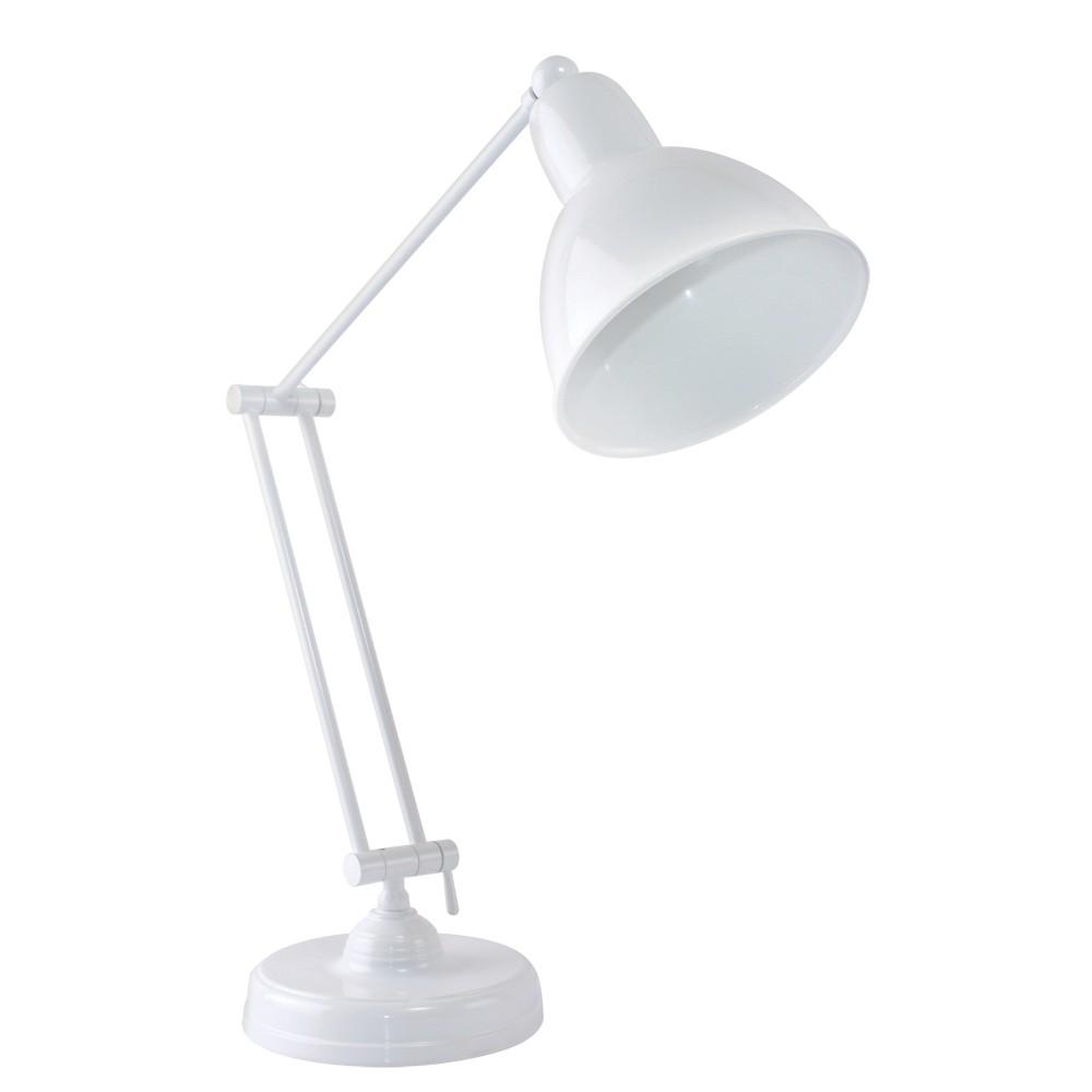 Image of Eastman Table Lamp White (Includes Energy Efficient Light Bulb) - OttLite